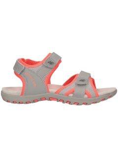 Sandały dla dużych dziewcząt JSAD401 - szary