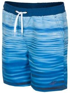 Spodenki plażowe dla dużych chłopców JMAJM210 - niebieski