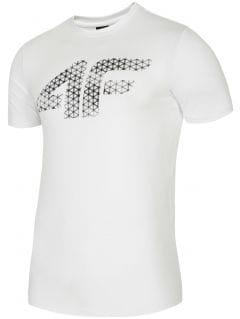 Koszulka treningowa męska TSMF259 - biały