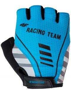 Rękawiczki rowerowe uniseks RRU204 - NIEBIESKI