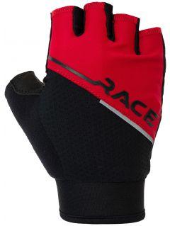Rękawiczki rowerowe RRU007 - czerwony