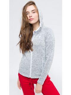 Bluza damska BLD302 - chłodny jasny szary