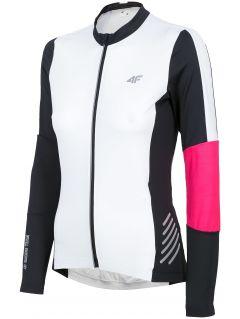 Koszulka rowerowa damska RKD150 - biały