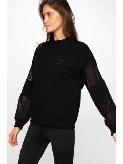 Bluza damska BLD290 - głęboka czerń