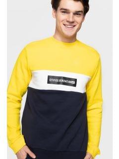 Bluza męska BLM205 - żółty