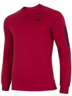 Bluza męska BLM209 - ciemna czerwień