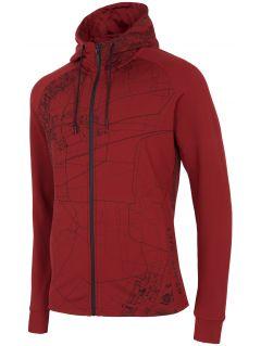 Bluza męska BLM213 - ciemna czerwień