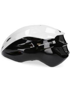 Kask rowerowy uniseks KSR200 - czarny&biały