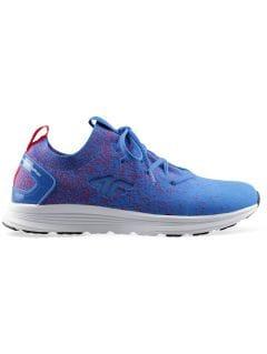 Buty sportowe damskie OBDS300 - kobalt melanż