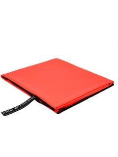 Ręcznik sportowy RECU200B - czerwony neon