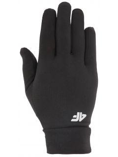 Rękawiczki do biegania uniseks RRU303 - głęboka czerń