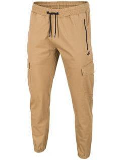 Spodnie miejskie męskie SPMC200 - beż