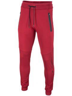 Spodnie dresowe męskie SPMD203 - ciemna czerwień
