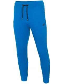 Spodnie dresowe męskie SPMD301 - kobalt