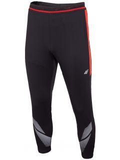Spodnie piłkarskie męskie 4F Football Team SPMTR290 - głęboka czerń