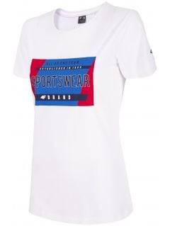 T-shirt damski TSD261 - biały