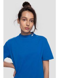 T-shirt damski TSD262 - kobalt