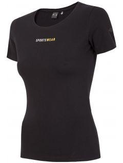 T-shirt damski TSD267 - głęboka czerń