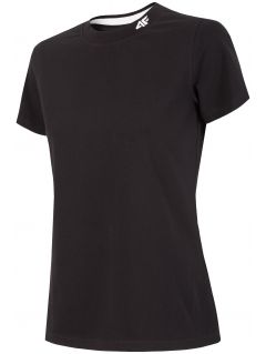 T-shirt damski TSD293 - głęboka czerń