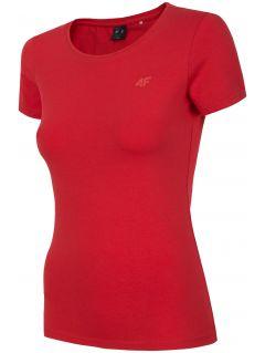 T-shirt damski TSD300 - czerwony