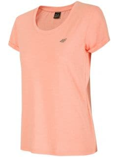 T-shirt damski TSD303 - jasny róż melanż