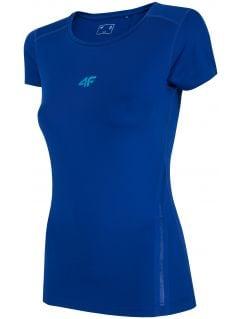 Koszulka treningowa damska TSDF201 - kobalt