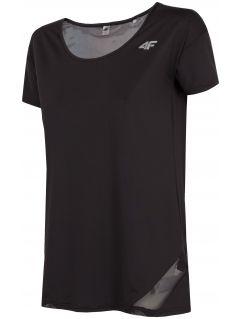 Koszulka treningowa damska TSDF304 - głęboka czerń