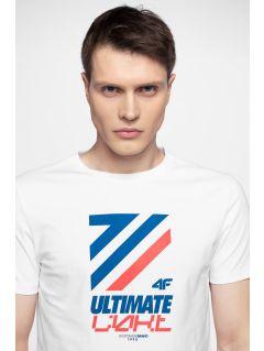 7b73a629e9cb T-shirt męski TSM226 - biały