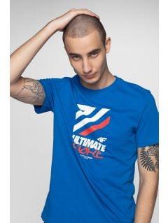 T-shirt męski TSM226 - kobalt