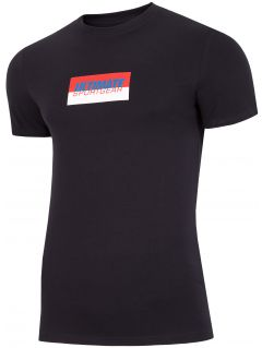 T-shirt męski TSM231 - ciemny granat