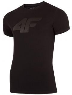 T-shirt męski TSM303 - głęboka czerń