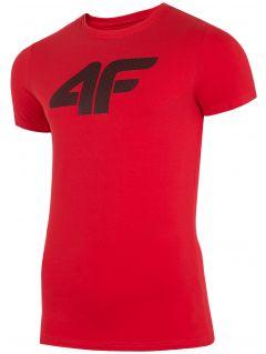 T-shirt męski TSM303 - czerwony