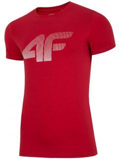 T-shirt męski TSM312 - czerwony