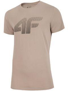 T-shirt męski TSM312 - beż