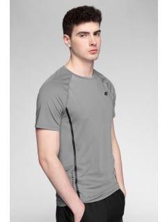 Koszulka treningowa męska TSMF273 - średni szary