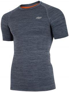 Koszulka treningowa męska TSMF275 - średni szary melanż