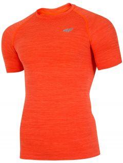 Koszulka treningowa męska TSMF275 - pomarańcz melanż