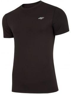 Koszulka treningowa damska TSMF300 - głęboka czerń