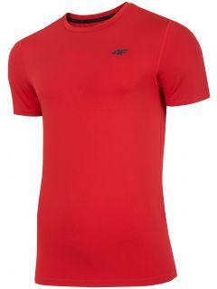Koszulka treningowa męska TSMF300 - czerwony
