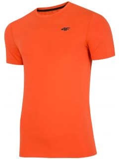 Koszulka treningowa męska TSMF300 - pomarańcz
