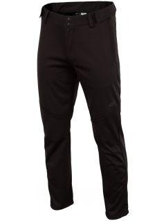Spodnie trekkingowe męskie SPMT202 - czarny