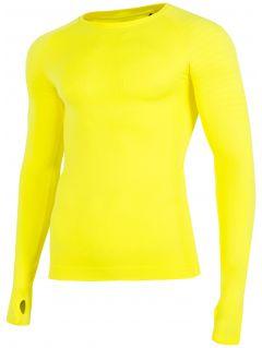 Bielizna bezszwowa męska (góra)  BIMB260G - żółty