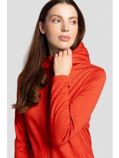 Bluza damska BLD303 - czerwony melanż