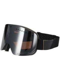 Gogle narciarskie damskie GGD150 - głęboka czerń