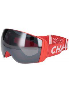 Gogle narciarskie damskie GGD251 - czerwony neon