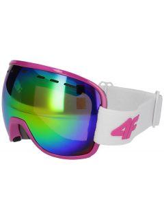 Gogle narciarskie damskie GGD252 - biały