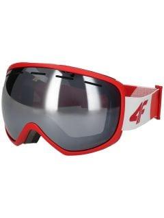 Gogle narciarskie męskie GGM250 - czerwony
