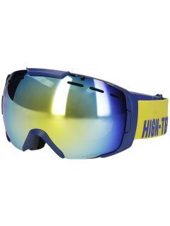 Gogle narciarskie męskie GGM255 - żółty