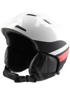 Kask narciarski damski KSD150 - biały