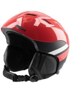 Kask narciarski damski KSD150 - czerwony